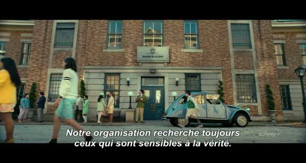 serie Amazon Prime Vide Le mystérieux cercle Benedict